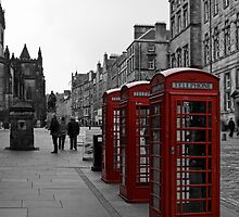 Telephone Boxes by Lynne Morris