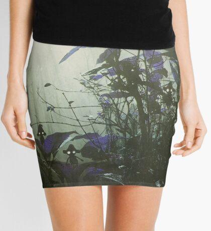 At the bottom of the garden. Mini Skirt