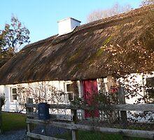The Cosey Thatch Home,Kells,Co.Kilkenny.Ireland. by Pat Duggan