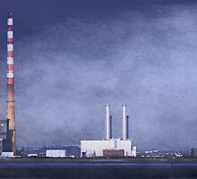 Poolbeg by Alan Wright