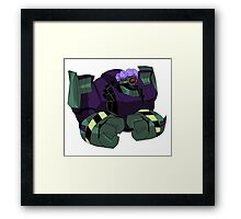 Lugnut from Transformers animated Framed Print