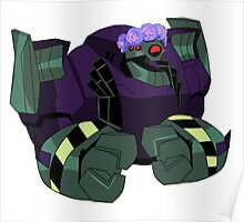 Lugnut from Transformers animated Poster