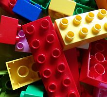Colourful building blocks by AllThingsNice