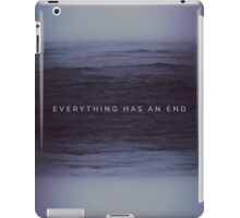 The end iPad Case/Skin