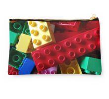 colourful building blocks for laptop Studio Pouch