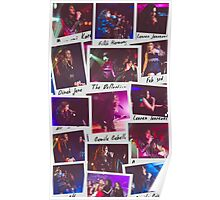 Fifth Harmony Polaroid Collage Poster