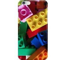 colourful building blocks #2 iPhone Case/Skin
