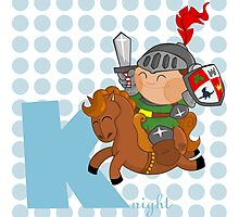 k for knight Photographic Print