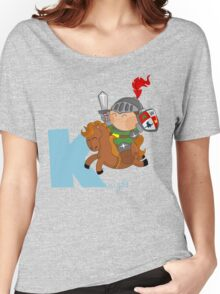 k for knight Women's Relaxed Fit T-Shirt