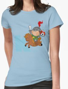 k for knight Womens Fitted T-Shirt