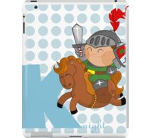 k for knight iPad Case/Skin
