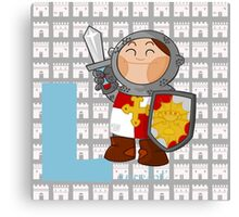 l for lancelot Canvas Print