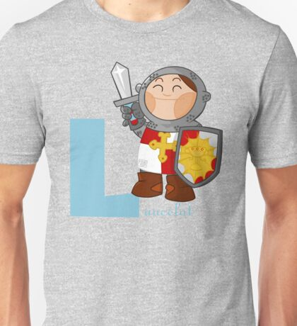 l for lancelot Unisex T-Shirt
