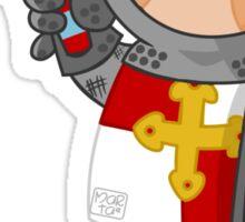 l for lancelot Sticker