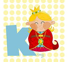 k for king Photographic Print