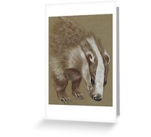 badger Greeting Card