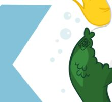 k for kelpie Sticker