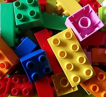 colourful building blocks #2 for laptop by AllThingsNice