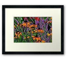 Full Of Flowers Framed Print