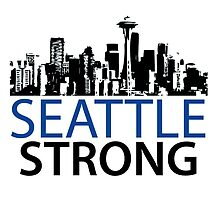 Seattle Strong - Skyline by Four4Life