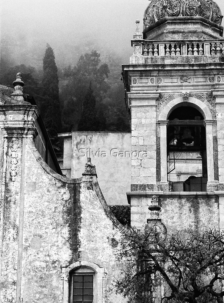Taormina church detail by Silvia Ganora