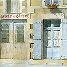 Two doorways - Javerlhac, France by ian osborne