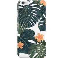 Tropical blossom iPhone Case/Skin