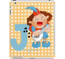 j for jongleur iPad Case/Skin