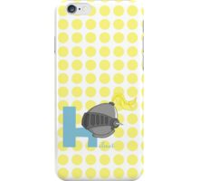 h for helmet iPhone Case/Skin