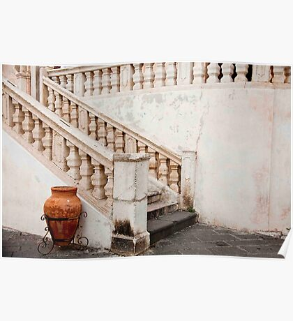 Church Stairs Poster