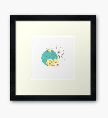 Good morning. Framed Print