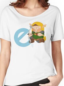 e for elf Women's Relaxed Fit T-Shirt