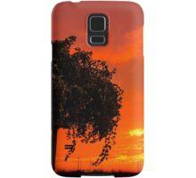 Burning sky... #002 Samsung Galaxy Case/Skin
