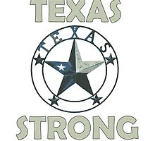 Texas Strong Country Strong Badge by Four4Life