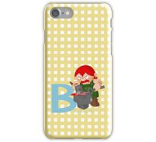 b for blacksmith iPhone Case/Skin