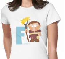 f for farmer Womens Fitted T-Shirt