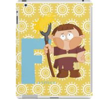 f for farmer iPad Case/Skin