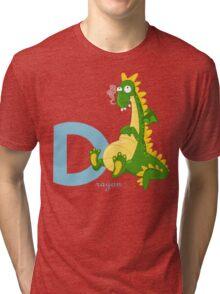 d for dragon Tri-blend T-Shirt