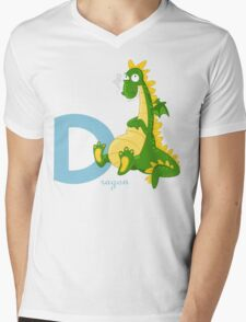 d for dragon Mens V-Neck T-Shirt