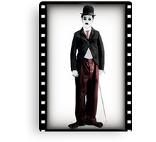 ๑۩۞۩๑  MY DOLL CHARLIE CHAPLIN-PILLOW-TOTE BAG- PICTURE-CARD- ECT.  ๑۩۞۩๑ Canvas Print
