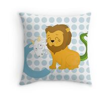 c for chimera Throw Pillow