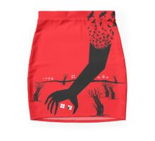 Negative Space Mini Skirt