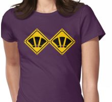 EXCLAMATION signs? Womens Fitted T-Shirt
