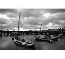 Bridlington Dock Photographic Print