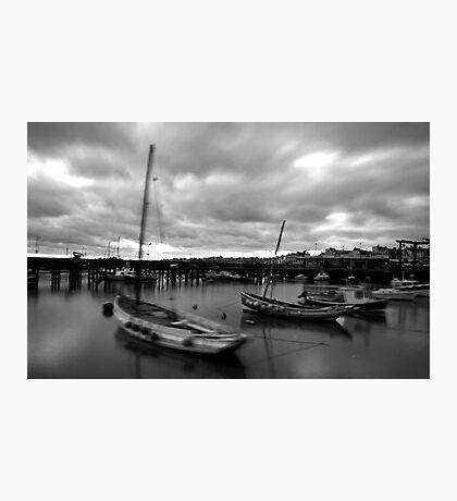 Bridlington Dock Photographic Print