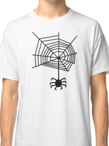 spider web with spider Classic T-Shirt
