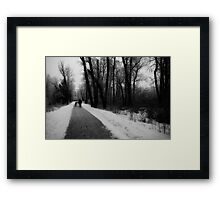 Frost Walkers Framed Print