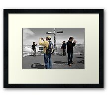 Smile no 30- A Series of Art Photos by Paul Williams Framed Print
