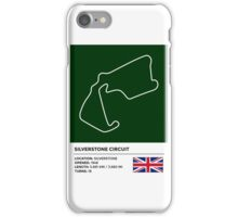 Silverstone Circuit - v2 iPhone Case/Skin