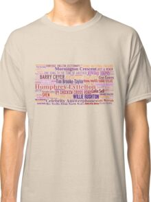 I'm Sorry I Haven't a Clue -The Games and Faces! Classic T-Shirt
